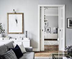 Interiors   Grey Tones, Swedish Apartment
