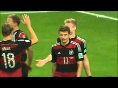 Brésil 1 -7 Allemagne - Coupe Du Monde 2014 - 1/2 finale Les Buts