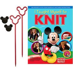I Taught Myself How To Knit.  Ages 8 and Up.  $16.88 @ WalMart