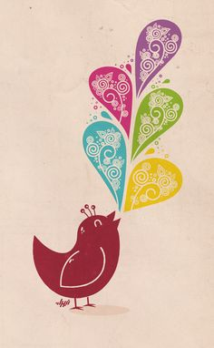 A Good Day | Nabhan Abdullatif    Isn't this bird happy & content?!!
