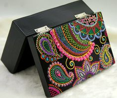 Hippy Yippee Wooden Box by ibelief on Etsy, $89.00