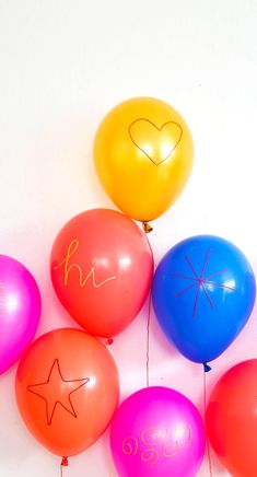Embroidered Balloons...how to...