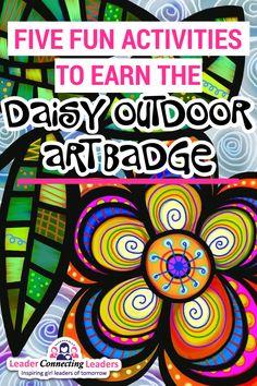 Girl Scout Daisy Activities, Activities For Girls, Girl Scout Crafts, Fun Activities, Outdoor Activities, Girl Scout Leader, Girl Scout Troop, Outdoor Girls, Outdoor Art