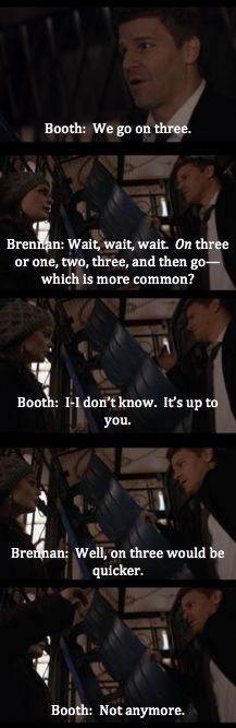 Bones and Booth :-)