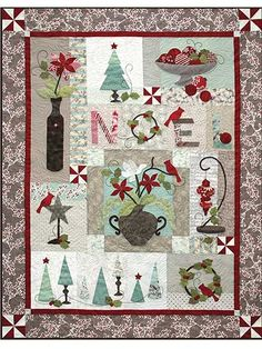 Holiday Chic Quilt Pattern