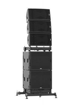 Apilado de GEO sobre subs Monitor Speakers, Audio Speakers, Home Studio Setup, Subwoofer Box Design, Speaker Plans, Sound Studio, Dj Gear, Dj Equipment, Speaker Design