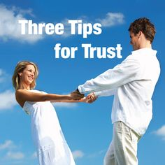 Three Tips for Trust - Article:   Catholic Leader October 26, 2014 Relationships thrive when trust is strong. But how do we build it in the first instance, and then recover it if we've lost it? Here are three tips to help you build trust and hold on to it. 1. Keep your promises We all know major betrayals like an affair is a...  - http://smartloving.org/three-tips-for-trust-article/ http://smartloving.org/wp-content/uploads/2014/10/three-tips-for-trust.jpg