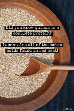 Quin-what? Quinoa is a grain pronounced (KEEN-wah)