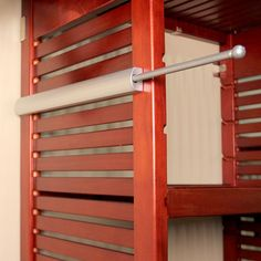 John Louis Home, 16 in. Pull-Out Valet Rod, at The Home Depot - Mobile Clothes Rod, Reach In Closet, Closet System, Master Closet, Master Bedroom, Master Bath, Shed Plans, Closet Organization, Closet Storage