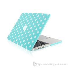 Hot Blue Polka Dot Design Ultra Slim Light Weight Hard Case Cover for Apple MacBook Pro with Retina Display Model: and Apple Macbook Pro, Macbook Pro 13, Apple Laptop, New Macbook, Macbook Decal, Macbook Case, Mac Laptop, Macbook Accessories, Hot Blue