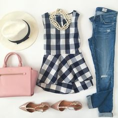 Spring/Summer travel outfit