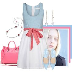 Simple/clean, created by kloeyblue on Polyvore
