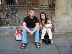 Calzoni - Pisa, Tuscany. Honeymoon :-)