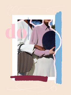 Collage by Linda Gobeta using Mansur Gavriel imagery - Web Design, Design Blog, Layout Design, Media Design, Photoshop, Design Bauhaus, Collages, Collage Design, Collage Collage