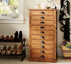 For lingerie chest Shelby Accessory Tower | Pottery Barn