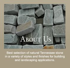 Wholesale Tennessee Stone, Flagstone, Boulders, Natural Landscape Stone