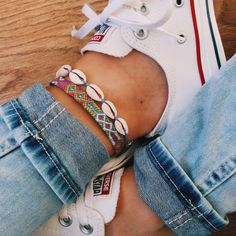 Anklets and jeans!