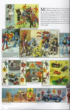 """Mego Super Heroes   ... Babies: BAB Book Review --Mego 8"""" Super-Heroes: World's Greatest Toys"""