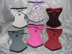 corset invitation | Corset Invitations for Bridal Shower Bachelorette by NaesAttic, $20.00