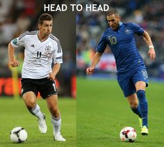 All head to head stats results of Germany vs France