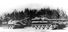 SU-85 and SU-101