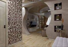 House Hall Design, Door Design, Living Room Partition Design, Room Partition Designs, Ceiling Decor, Ceiling Design, Indian House Plans, Plafond Design, Indian Homes
