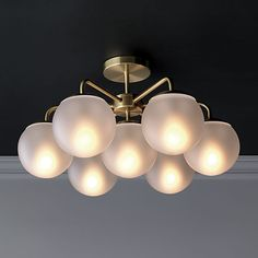 vega flush mount lamp | CB2