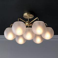 vega flush mount lamp | CB2