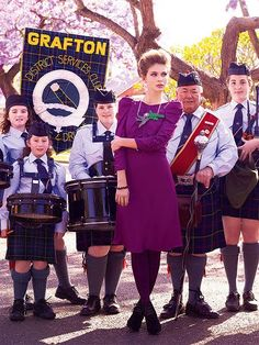 Purple Reign: ru_glamour — LiveJournal Marie Claire Australia, Purple Reign, Muted Colors, Feminine Style, Punk, Glamour, Silhouette, Model, Fashion