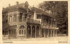 Het ´Boschhuis´ aan de Hereweg, 1910