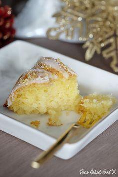 Bear Naked Food Lemon Drizzle Cake