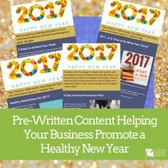 Holiday Healthy Content Bundle For ENewsletters  Readymade For