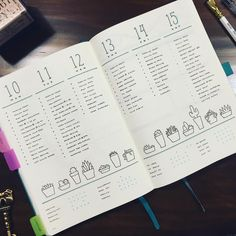 """53 Likes, 3 Comments - Kira Butler (@kirabutlerauthor) on Instagram: """"Last week's spread was really simple, but lacking a Sunday. Since I'm about to try something with…"""""""