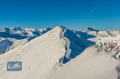 Le domaine skiable de Val d'Allos #pistesdeski #sommet www.valdallos.com  Photo office de tourisme du Val d'Allos R Palomba