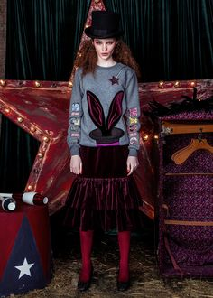 Katya Dobryakova /  FALL WINTER 2016-2017 Fashion Styles, Fashion Trends, Women's Fashion, Cool Style, Fall Winter, Women Wear, Punk, Showroom, Dresses