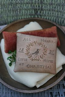 Sweet Christmas needlework