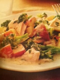 Easy crockpot recipes: Potato, Broccoli and Chicken Casserole Crockpot Recipe