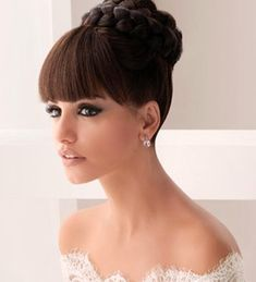Prom Hair Style - Wouldn't this be perfect with a long prom dress! www.GownGarden.com