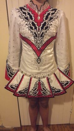 Irish Dance Solo Dress Costume from Ryan school of dance munster