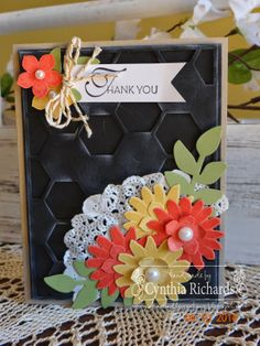 Ink-a-Doodle Creations: Thank You Mom PPA199 hmmmm have to try that black