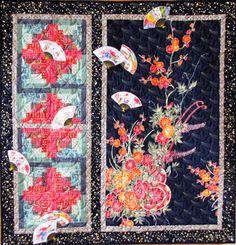 oriental quilts   San Antonio Postcards: The Asian Quilt