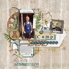 Kaden at Camp Mennoscah - digital scrapbooking at #DesignerDigitals