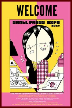 Small Press Expo 2014 in Bethesda, MD