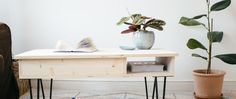 DIY : la table basse & ses hairpin legs (sans clou ni vis)