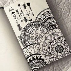 drawing, love, and mandala image art drawings, art - mandala art sketch Doodle Art Drawing, Mandalas Drawing, Zentangle Drawings, Zentangles, Drawing Ideas, Easy Mandala Drawing, Mandala Doodle, Best Drawing, Easy Zentangle