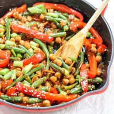 Sesame orange stir fry