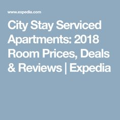 City Stay Serviced Apartments: 2018 Room Prices, Deals & Reviews | Expedia