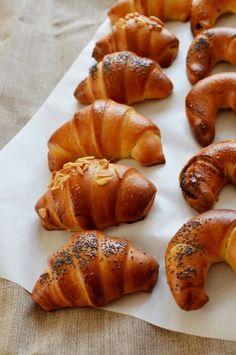 Svatomartinské kváskové rohlíčky - My site Healthy Cake, Healthy Recipes, Healthy Food, Russian Recipes, How To Make Bread, Pretzel Bites, Baked Potato, Food Porn, Food And Drink