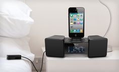 Groupon - $ 26.99 for an iLuv Vibro II Dual-Alarm Clock with Bed Shaker for iPhone and iPod ($ 80 List Price). Free Shipping.. Groupon deal price: $26.99