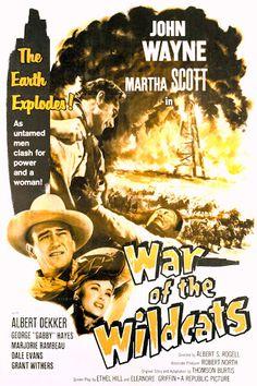 John Wayne, Albert Dekker, and Martha Scott in In Old Oklahoma Western Film, Western Art, Western Movies, Iowa, Oklahoma, Old Movies, Vintage Movies, Martha Scott, Westerns